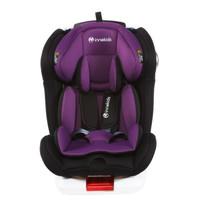 innokids IK-08  儿童安全座椅 梦幻紫-安全带款