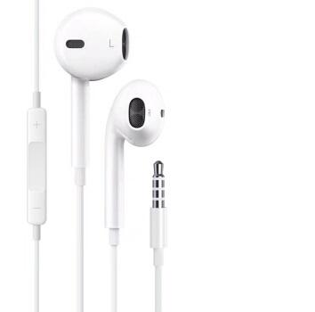 Apple 苹果 耳机手机线控 (黑色、iOS、入耳式)