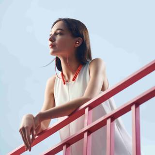 OPPO Enco Q1 无线降噪耳机 ANC双重主动降噪/颈挂式/入耳式/蓝牙5.0/游戏/手机通话耳机 阳光橙
