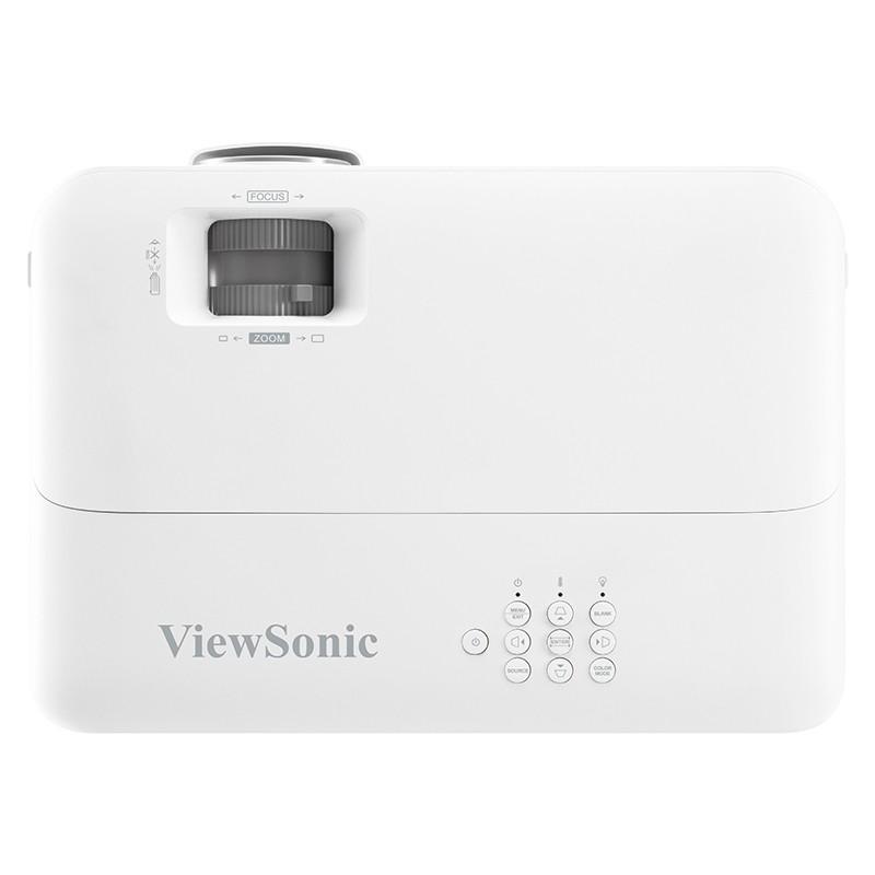 ViewSonic 优派 PX727HD 家用投影仪 白色