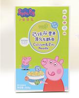 Peppa Pig 小猪佩奇 婴幼钙铁锌硒面条 268g *3件