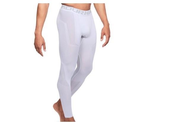 UNDER ARMOUR 安德玛 运动裤 (白色、S)
