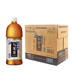 三得利(Suntory)无糖乌龙茶饮料1250ml*6瓶/箱 茶饮料