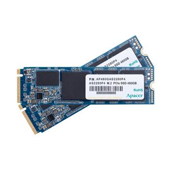 宇瞻(Apacer)480GB SSD固态硬盘 M.2接口(NVMe协议) GEN3 x 4(AS2280P4)