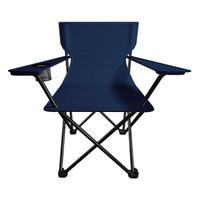 V-CAMP 威野营 折叠扶手椅/钓鱼/椅便携式休闲椅(藏蓝色)