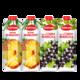 波兰进口 富尔图娜果汁 菠萝汁1L*2瓶+黑加仑果汁1L*2瓶 34.9元包邮(需用券)