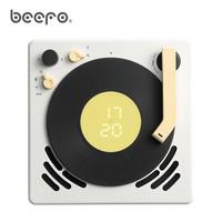BEEFO MLP-W 小唱机 复古蓝牙音箱音响低音炮 奶酪白