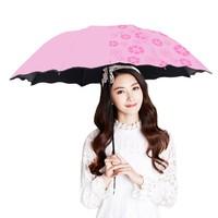 遇水开花晴雨伞 常规荷叶边