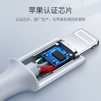 UGREEN 绿联 PD充电器 18W + MFi认证 PD数据线 1米 *4件