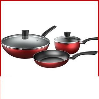 Midea 美的 锅具套装 红色 SL0302
