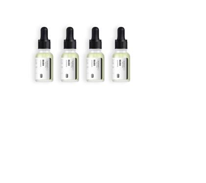 HomeFacialPro 寡肽祛痘原液祛痘印精华液修护痘坑去粉刺产品4瓶套装女男 G406