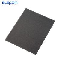 ELECOM 宜丽客 MP-ABG 防滑鼠标垫男大尺寸舒适笔记本鼠标垫 黑色 180x230mm