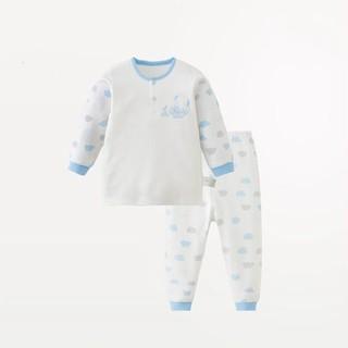 Les enphants 丽婴房 儿童精梳棉内衣套装