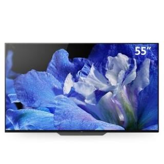 再降价 : SONY 索尼 KD-55A8F 55英寸 4K OLED电视