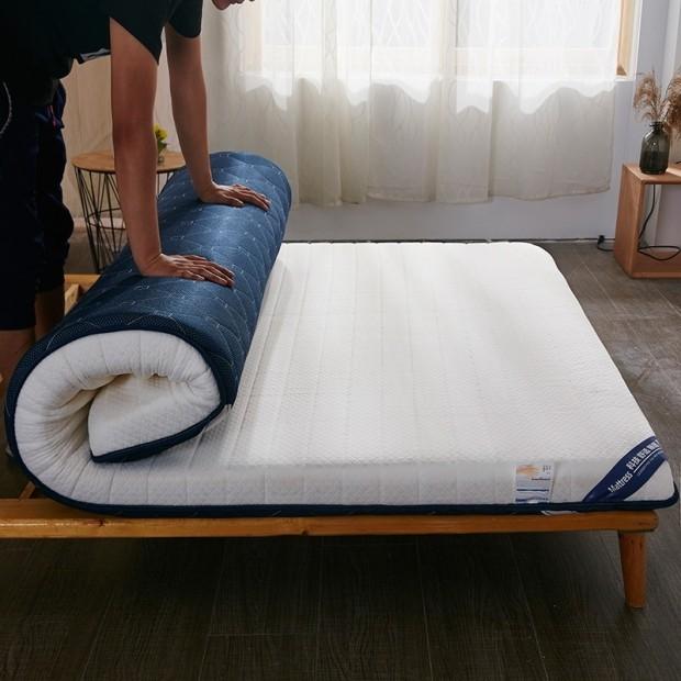 Xanlenss 轩蓝仕 榻榻米宿舍乳胶舒适棉床垫 90*200*10cm