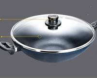 WOLL 弗欧 炒锅不粘锅 德国制造 尊贵钻石系列 少油烟 32CM大口径 进口锅具1132-1TBL
