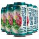 新日期 6罐装六荷花开原浆啤酒500ml精酿全麦小麦白啤酒国产生啤 34.9元(需用券)