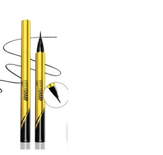 MAYBELLINE 美宝莲 眼线笔小金笔管极细易画防水不晕染防水眼线液笔持久浓黑速干 黑色