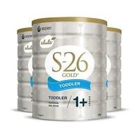 Wyeth 惠氏 S26 金装奶粉 3段 900g*3