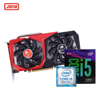intel 英特尔 i5 9400F 盒装 CPU + 七彩虹 战斧 RTX2060 显卡 套装