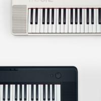The ONE 壹枱 61键电子钢琴 成人儿童初学乐器 蓝牙多功能 黑色