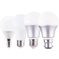 佛山照明 LED灯泡 E27螺口3W 2只 白/暖白可选