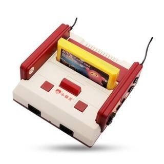 小霸王游戏机4k电视任天堂红白机 怀旧家用HDMI输出双人手柄 +500合一游戏卡
