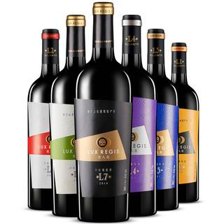 类人首红酒L系列美乐赤霞珠干红葡萄酒自酿整箱750ml*6支装