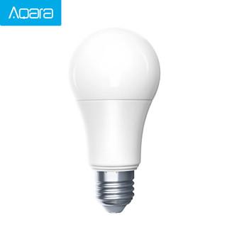 绿米Aqara 智能LED灯泡 接入米家苹果HomeKit双平台 小爱同学Siri智能语音控制E27接口节能可调色温