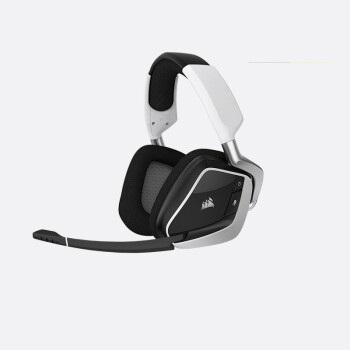 CORSAIR 美商海盗船 游戏耳机  7.1声道 (白色、无线(蓝牙)、USB接口)