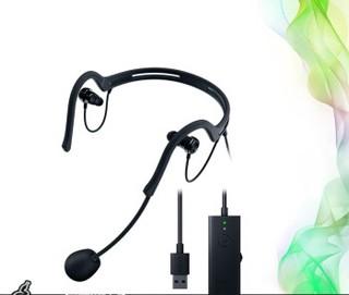 RAZER 雷蛇 电容麦克风 (黑色、有线、USB接口)