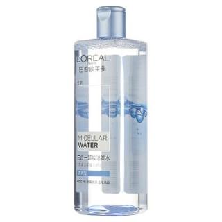 L'OREAL PARIS 巴黎欧莱雅 三合一卸妆洁颜水400毫升 清爽型