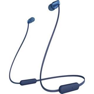 索尼(SONY)WI-C310 无线入耳式立体声耳机 手机耳机 颈挂线控 蓝色