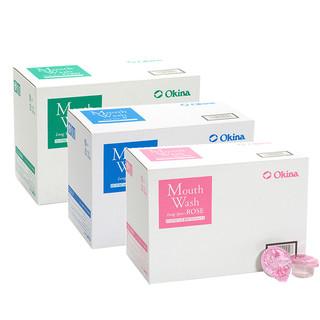 9日0:(前1小时减10元)OKINA 便携漱口水  25个装*2薄荷/玫瑰