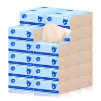 千唯本色抽纸整箱卫生批发32包