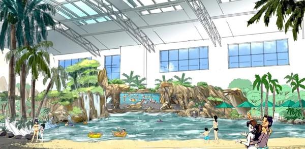 比杭州森泊更大更好玩!畅玩2.8万㎡水乐园或4200㎡儿童乐园!莫干山开元森泊度假乐园1晚套餐