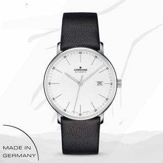 JUNGHANS 德国荣汉斯新款FORM系列商务休闲皮带自动机械男手表腕表 027/4730.00