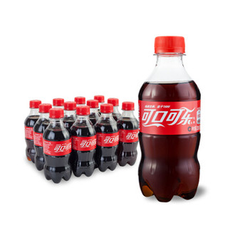 Coca-Cola 可口可乐  碳酸饮料 300ML*12瓶