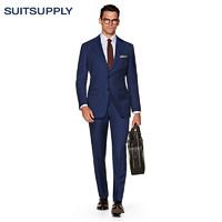 SUITSUPPLY 男士西装套装 (蓝色、50)