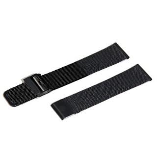 肖勒 THORE专用表带 真皮带钢带米兰尼斯 点击颜色分类可选 【点我选色】黑色米兰尼斯钢带(男) 男士20毫米  213