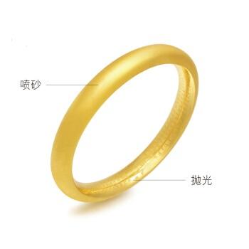 Chow Sang Sang 周生生 黄金手镯足金心经经文 传承 婚嫁祝福 黄金手镯 定价 10圈  90155K