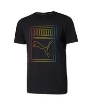 PUMA 彪马 Rainbow 597850 男子T恤
