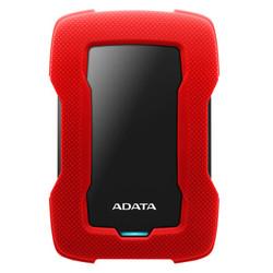 ADATA 威刚 HD330 1TB 红色 移动硬盘 USB3.0