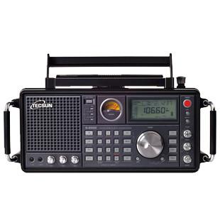 TECSUN 德生  S-2000 单边带 航空波段无线电收音机 黑色