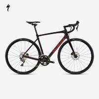 SPECIALIZED 闪电 ROUBAIX COMP 训练款男式碳纤维耐力公路自行车 (经典黑/反光白、52)