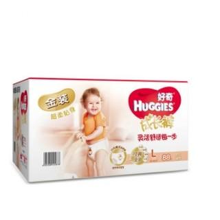 HUGGIES 好奇 金装成长裤 L88片 *3件