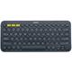 Logitech 罗技 K380 便携式蓝牙键盘 灰/蓝/红 129元包邮(需用券)