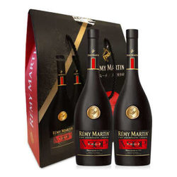 Rémy Martin 人头马 V.S.O.P优质香槟区干邑白兰地双支礼盒 375ml*2瓶