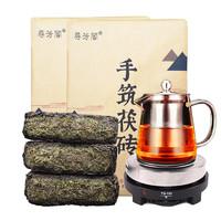 寻芳阁 安化黑茶天尖茯砖茶1000g