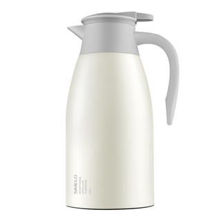 SIMELO印象京都小金刚保温壶2.0L 大容量保温杯304不锈钢真空水壶家用暖壶